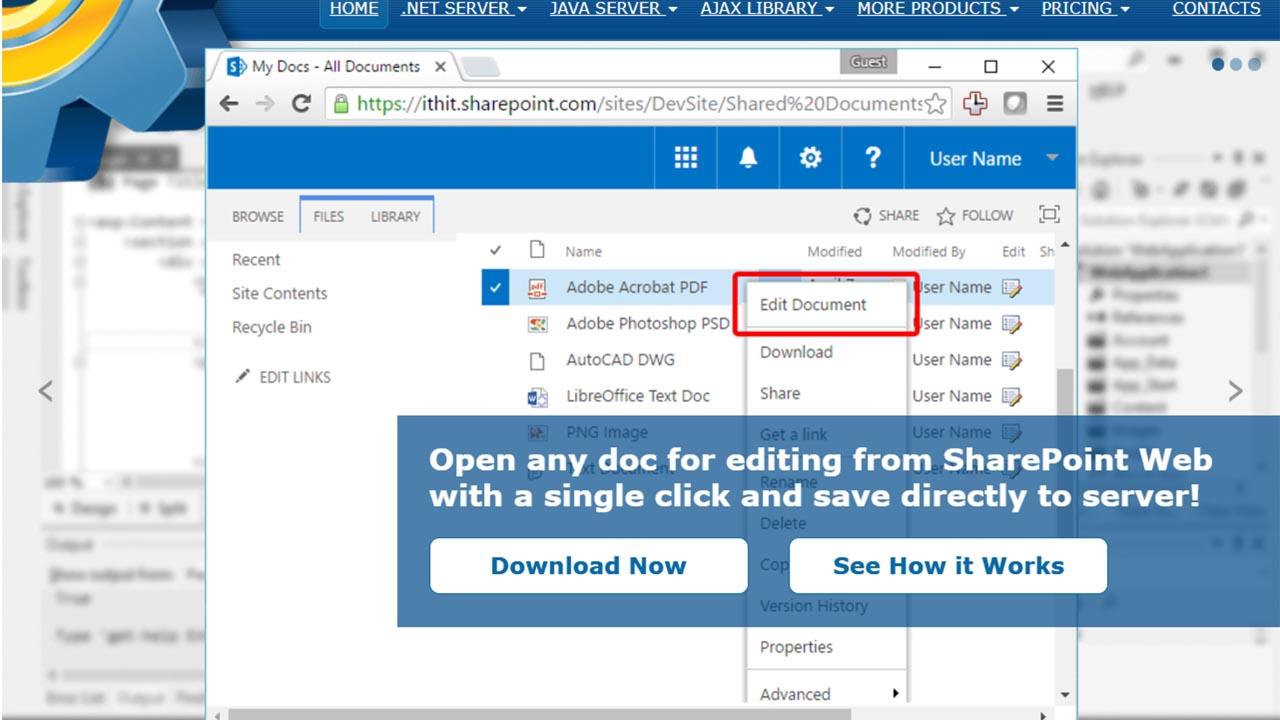 webdav integration, remote document processing, webdav development, webdav software, document cloud